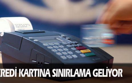 Kredi kartına sınırlama