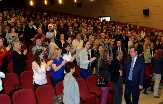 Mersin Büyükşehir Belediyesi'nin Kadrolu çalışanına yüzde 16 zam