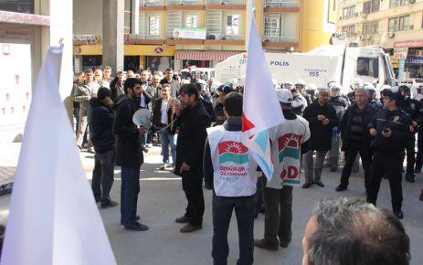 Mersin Polisi Yürüyüşe İzin Vermedi