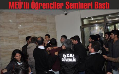 MEÜ'lü Öğrenciler Semineri Bastı