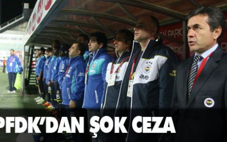PFDK'dan Fenerbahçe'ye şok