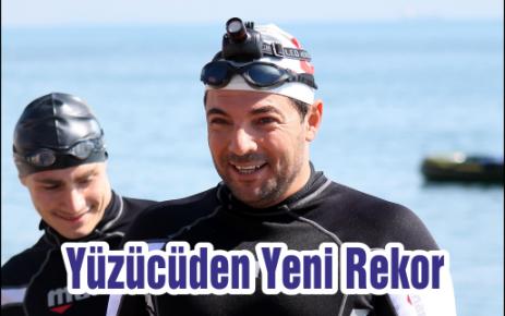 Rekortmen Yüzücüden Yeni Rekor