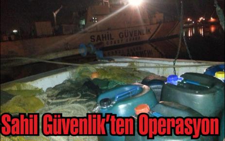 Sahil Güvenlik'ten Operasyon
