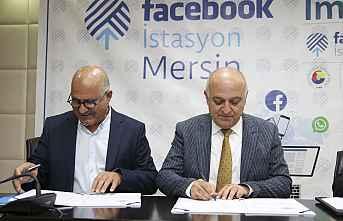 Mersin Facebook İstasyon için imzalar atıldı.
