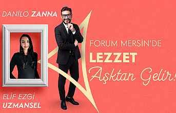 İtalyan Şef Danilo Zanna Mersin Forum'da