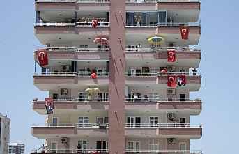 Mersin Sokaklarında 19 Mayıs Coşkusu