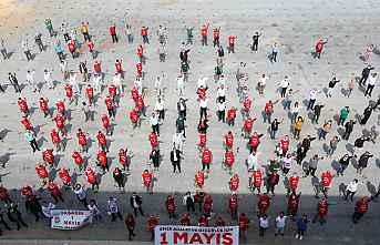 Mezitli 1 Mayıs'ta Meydanlarda