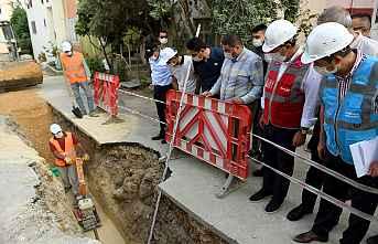 Kanalizasyon sorunu tarih oluyor