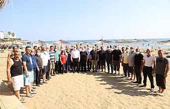 Akdenizli Muhtarlara Tatil Süprizi