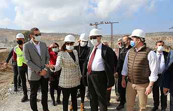 'TÜİOSB Altyapı çalışmaları devam ediyor