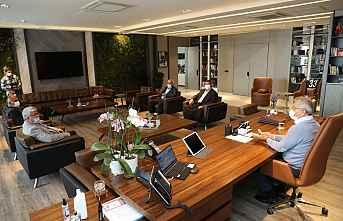 Başkan Tarhan, Akdeniz Ziraat Odası