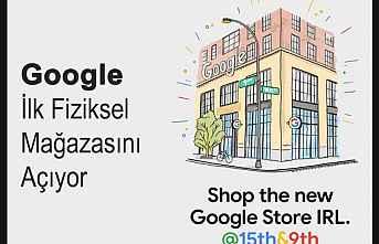 Google İlk Fiziksel Mağazasını Açıyor