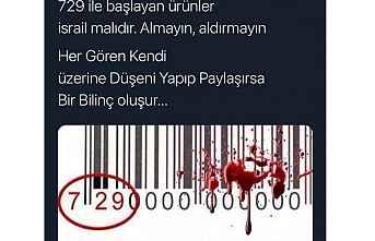 İsrail mallarını boykot ediyoruz