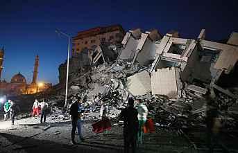 İsrail yine sivilleri hedef aldı.