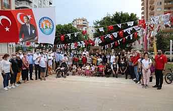 Mezitli'de Barış Ve Demokrasi Parkı Açıldı