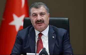 Sağlık Bakanı Fahrettin Koca açıkladı.