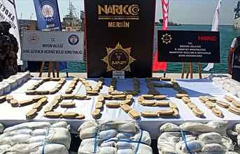 Suriye Açıklarında Ele Geçirilen 1,5 Ton Uyuşturucu...