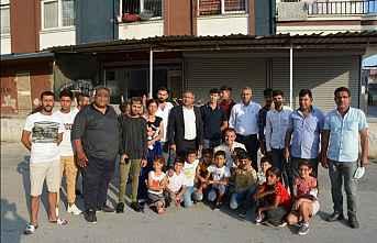 Purçu,Tarsus İlçe Örgütü'nü ziyareti