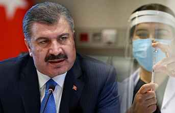 Sağlık Bakanı Fahrettin Koca açıkladı