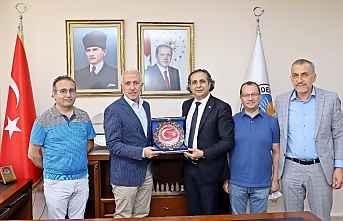TURAB, BAŞKAN GÜLTAK'I ZİYARET ETTİ