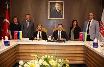 Visit Ukraine Heyetinin TÜRSAB Genel Merkezi