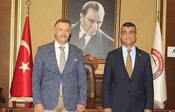 Başsavcı, Baro Başkanı Özdemire ziyaret