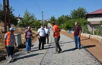 Gülnar Belediyesi Asfalt Çalışmaları