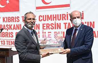 KKTC Cumhurbaşkanı Ersin Tatar Tarsus