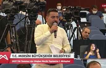 Önel'den Meclis'te 'Sanayi Sitesi' Çıkışı