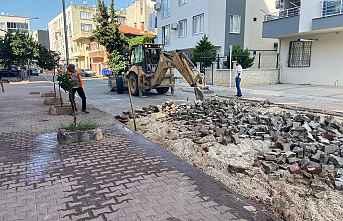 AKDENİZ'DE HER MAHALLEYE HİZMET