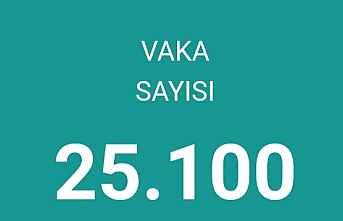 Bugünkü can 112  Vaka sayısı 25.100