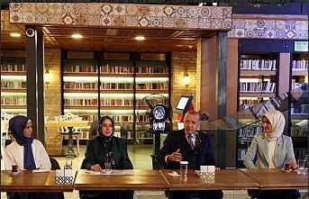 Cumhurbaşkanı Erdoğan, KADEM ziyareti