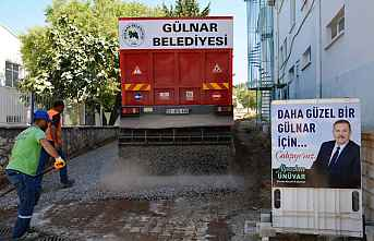 GÜLNAR Belediye, ASFALT ÇALIŞMALARINA