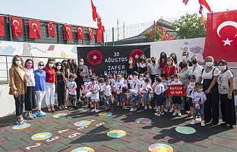 Kreş Çocuklarının 30 Ağustos coşkusu