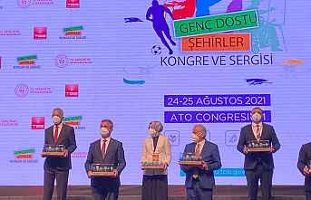 Mezitli Gençlik İnovasyon Merkezine ödül