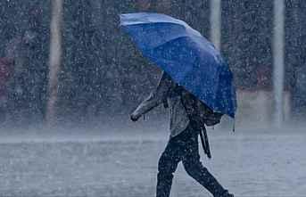 Samsunda Sağnak yağış uyarısı geldi