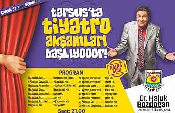 Tarsus'ta Tiyatro Akşamları başlıyor