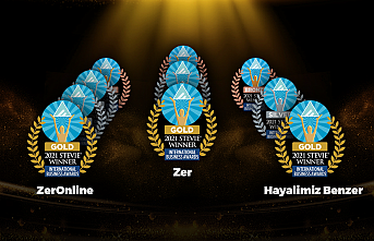 Zer, The Stevie Awards'tan 10 ödülle..