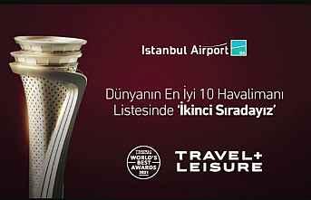 Dünya ikincisi oldu, İstanbul Havalimanı