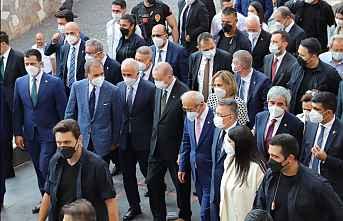 Erdoğan, Mersin'de inceleme yaptı