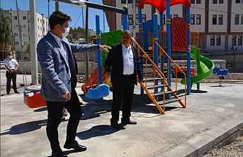 Gülnar'da güvenli oyun alanları hazırlandı