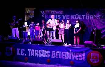 Tarsus Festivalinde Barış rüzgarları esti