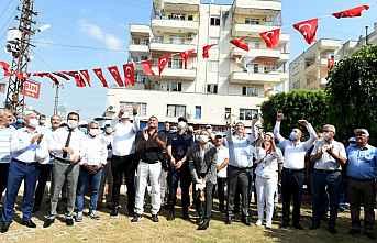 Tarsus'ta Beyaz Güvercinler göğe Salındı