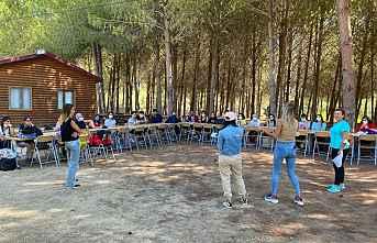 Engelsiz Birimimiz Oryantasyon Kampında