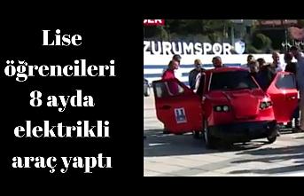 Erzurum'da TEKNOFEST Şov vardı