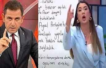 Fulya Öztürk'ten Fatih Portakal'a cevap
