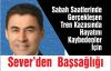 Mustafa Sever'in Başsağlığı Mesajı