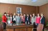Romanyalı Eğtimciler Gül'ü ziyaret etti