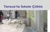 Tarsus'ta İskele Çöktü