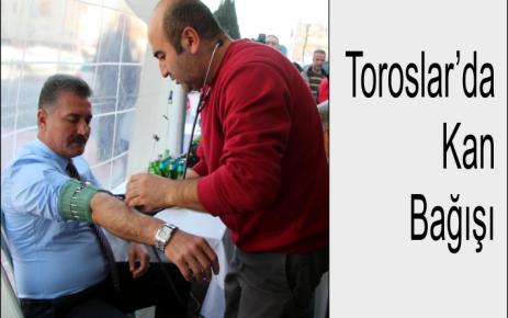 Toroslar'da Kan Bağışı